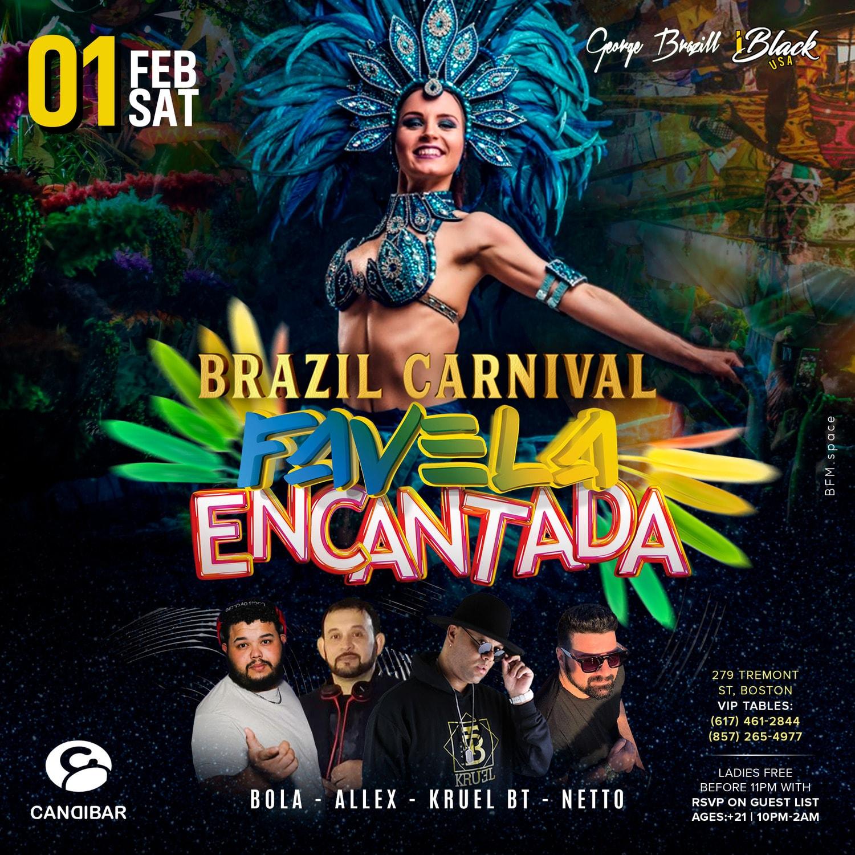 Favela Encantada 2020-01 Brazil Carnival
