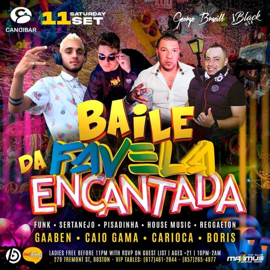 Baile da Favela Encantada - Candibar Boston | iBlackUSA