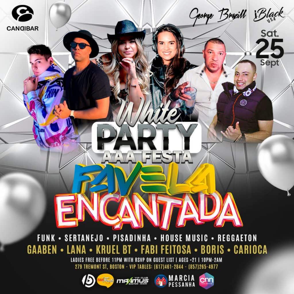 White Party Favela Encantada 09 25 2021